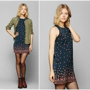 Urban Outfitters Staring At Stars Silky Dress